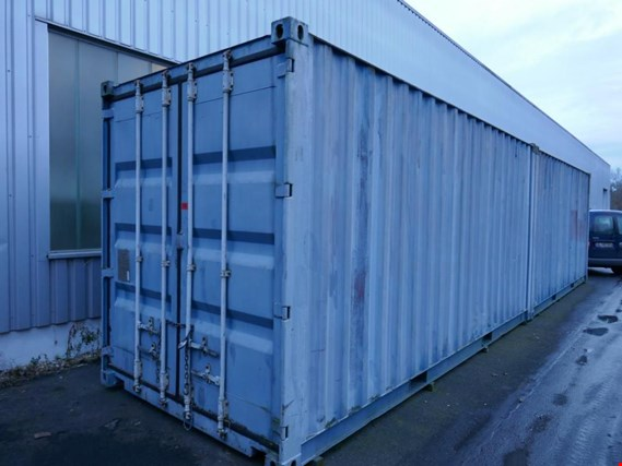 Used CSC Safety Approval FI068-09 20´-Überseecontainer for Sale (Auction Premium) | NetBid Industrial Auctions