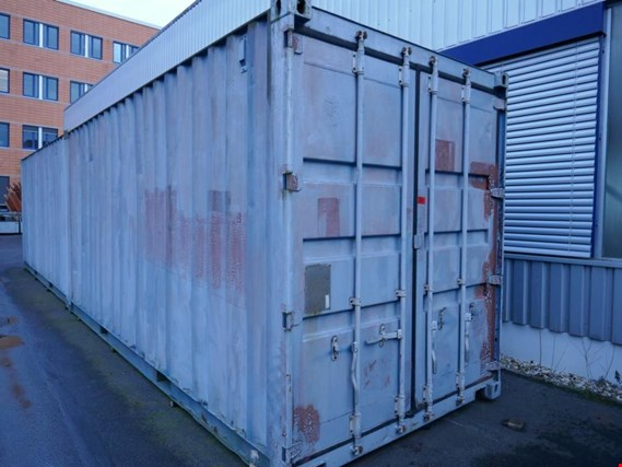 Used CSC Safety Approval JS-D24CR-B 20´-Überseecontainer for Sale (Auction Premium) | NetBid Industrial Auctions