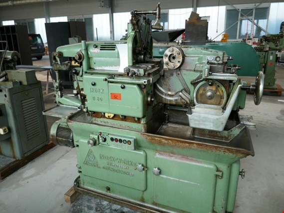 Index-Werke Index B 60 Single spindle bar turning machine kupisz używany(ą) (Auction Premium) | NetBid Polska