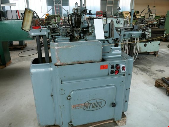 Used Strohm 125 NAR Single spindle bar turning machine for Sale (Auction Premium) | NetBid Slovenija