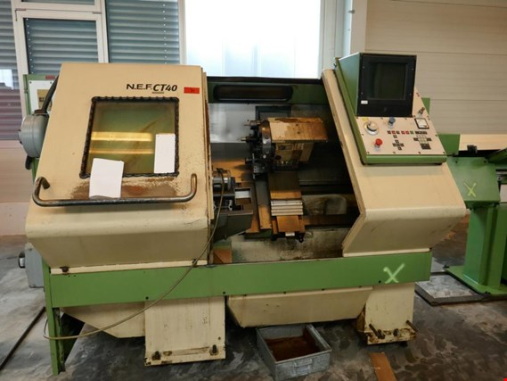 Used Nef Nef CT40 CNC lathe for Sale (Auction Premium) | NetBid Industrial Auctions