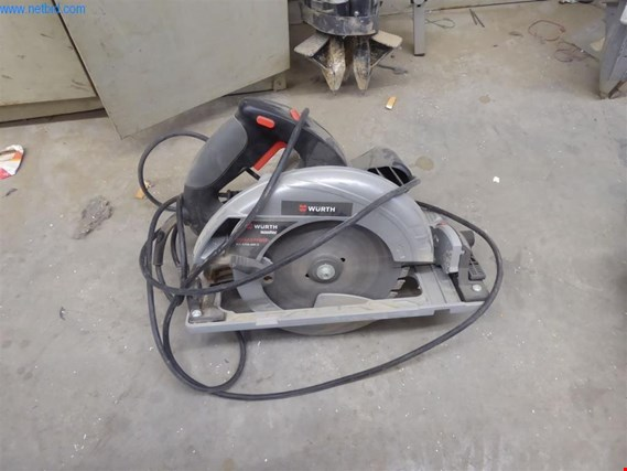 Used Würth HKS 65-E POWER Hand-held circular saw for Sale (Auction Premium) | NetBid Slovenija