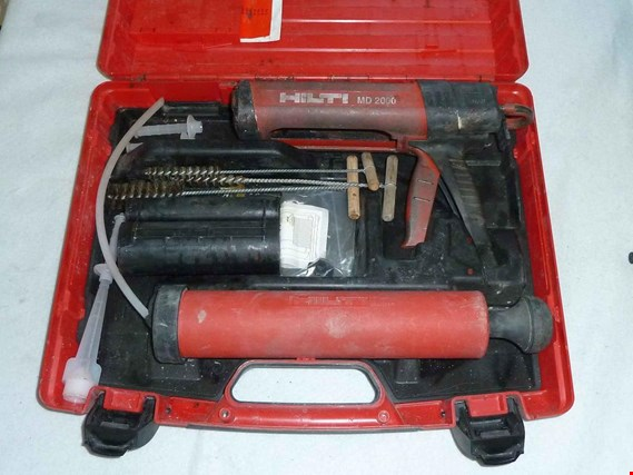 Used Hilti Squeezing unit and blowing unit + bolt setting unit for Sale (Auction Premium) | NetBid Industrial Auctions
