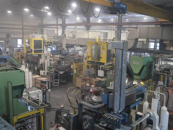 Die casting equipment (Al/Mg) 480 - 1,050 t,