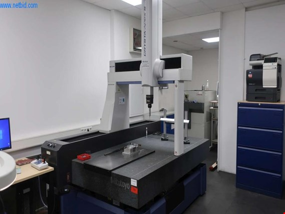 Used Mitutoyo Crysta-Apex S9166-B coordinate measuring machine for Sale (Online Auction) | NetBid Slovenija