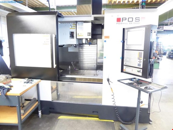 Used POS Posmil CE1000 Vertical CNC machining center for Sale (Auction Premium) | NetBid Industrial Auctions