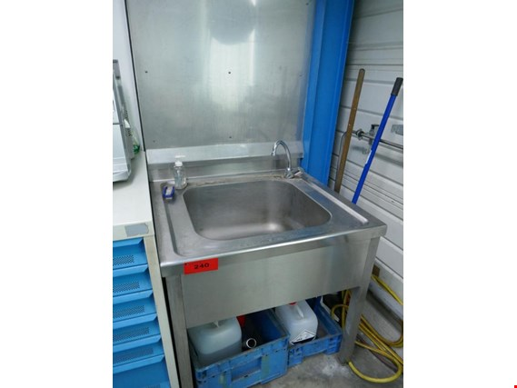 Stainless steel sink (Auction Premium) | NetBid ?eská republika