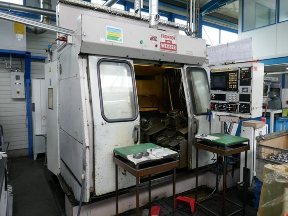 J.G. Weisser Söhne Frontor 21-2 CNC Horizontal double spindle CNC turning center (Auction Premium) | NetBid ?eská republika