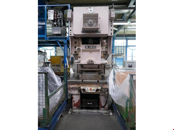 Smeral S160 Eccentric press (Auction Premium) | NetBid ?eská republika