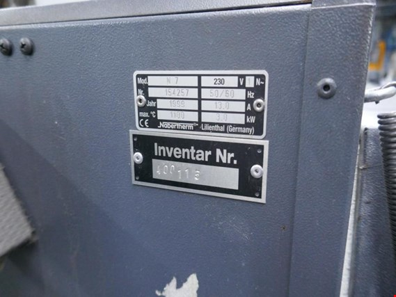 Used Nabatherm N7 annealing and tempering furnace for Sale (Auction Premium) | NetBid Slovenija