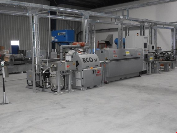 ROSENDAHL A complete set of machines for the production of leaky feeder cables  (Auction Premium)