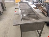 Stainless steel potato washing table