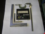 Tool set for machine tools - micrometers, rulers, stands, angle irons