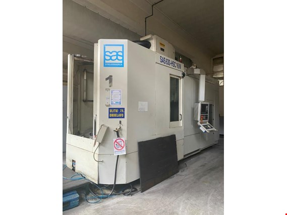 Used Strojegradnja d.o.o. SAS 630 HSC CNC- Machining center for Sale (Trading Premium) | NetBid Industrial Auctions
