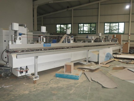 Used CML New Finishing UV varnishing and sanding line for edges for Sale (Auction Premium) | NetBid Industrial Auctions