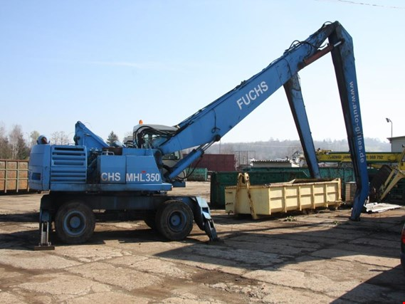 Used FUCHS MHL 350 reloading excavator for Sale (Auction Premium) | NetBid Industrial Auctions