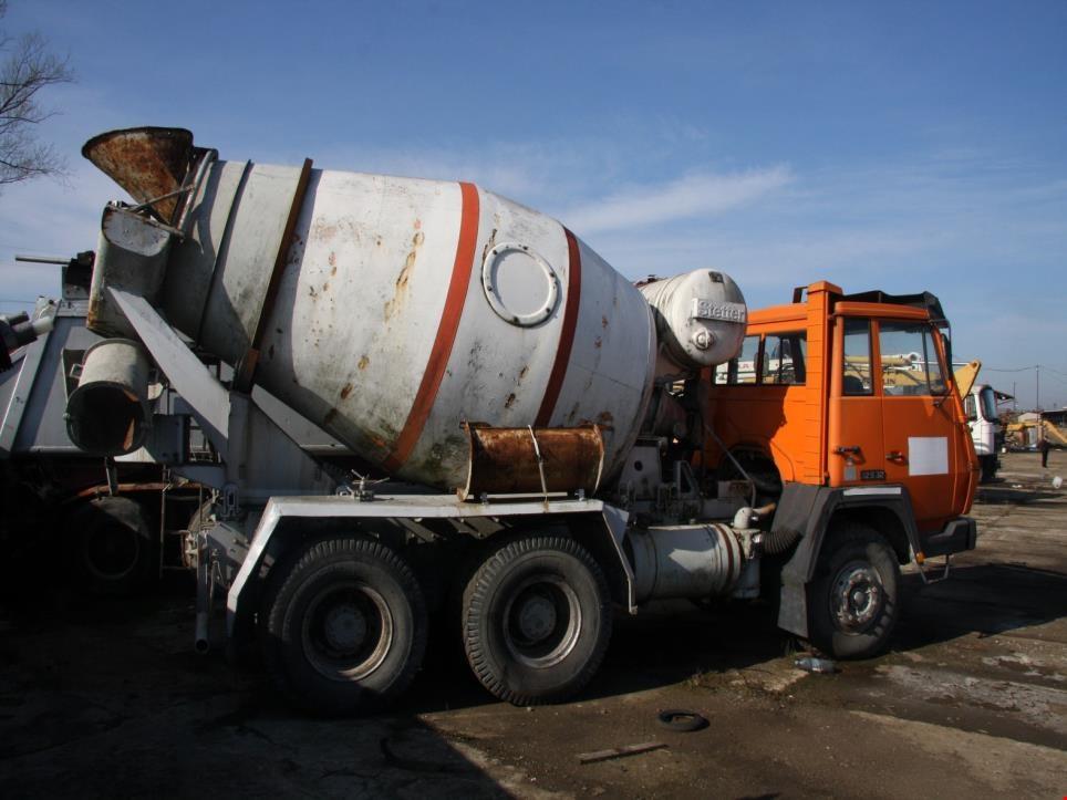 steyr 32s31 b29 6x4 lkw betonmischer gebraucht kaufen