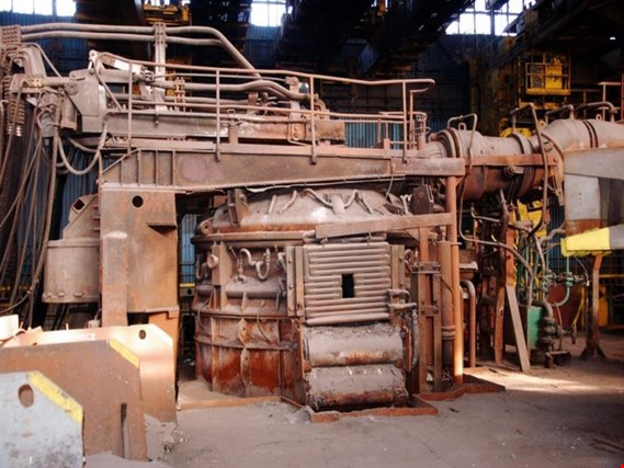 Used Huta Zabrze EAF Electric arc furnace for Sale (Trading Premium)