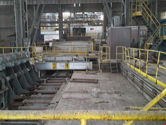 Used Voest - Alpine Continuous casting line for Sale (Trading Premium) | NetBid Industrial Auctions