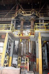 Heuertey Metallurgie Electro-slag remelting unit