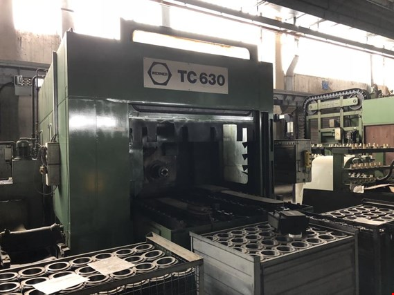 Used Fritz Werner TC 630 Horizontal CNC milling center for Sale (Auction Premium) | NetBid Slovenija