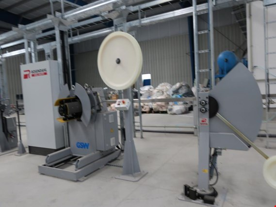 Used ROSENDAHL Production line for applying shielding (welding, corrugating) R K-W for Sale (Trading Premium)