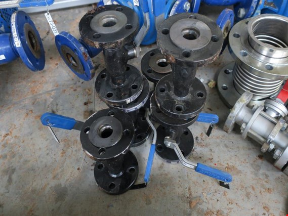 Used Andrex DN25 Ball valves DN25, 12 pcs. for Sale (Auction Premium)