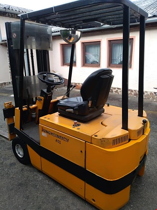 Used Jungheinrich EFG01 66E 115-20 DZ Forklift for Sale (Auction Premium)
