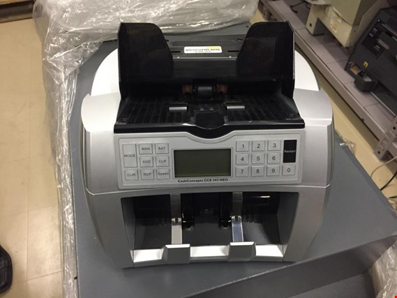 Used Cash Concept CCE 342 NEO Banknote counter (10 psc) for Sale (Trading Premium) | NetBid Industrial Auctions