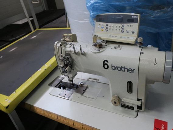 Used Brother T-8722A-405 Two needle machine for Sale (Auction Premium) | NetBid Industrial Auctions