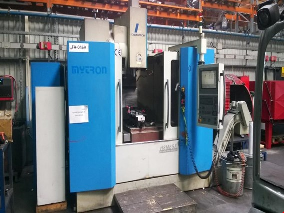 Used Myrton HSM-85A  Machining centre with Heidenhain-controlling for Sale (Trading Premium) | NetBid Industrial Auctions