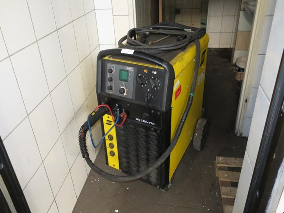 ESAB Origo Mig C420 PRO semi-automatic welding machine (Auction Premium) | NetBid España