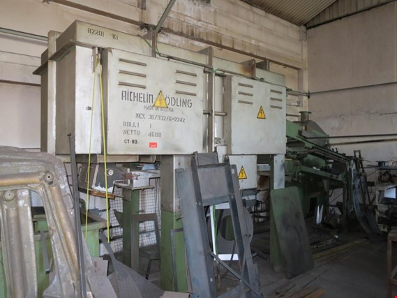 Used AICHELIN DHES 35/220 Quenching line for Sale (Auction Premium) | NetBid Industrial Auctions