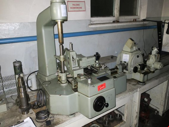 Used Carl Zeiss Evolventen-Prufgerat Gear checking device for Sale (Auction Premium) | NetBid Industrial Auctions
