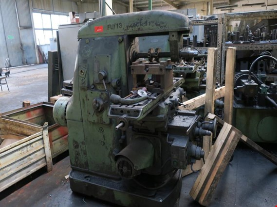 Used Horizontal milling machine for Sale (Auction Premium) | NetBid Slovenija
