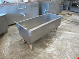 Stainless steel trolley bathtub, 2 pcs