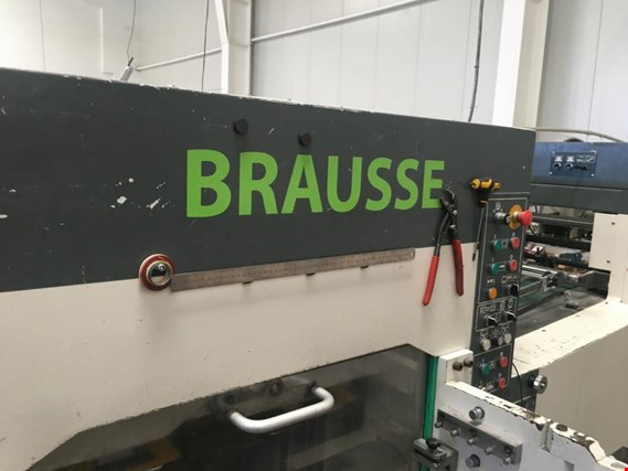 Used Brausse China Brausse  1050SE automatic die cutting machine for Sale (Auction Premium) | NetBid Industrial Auctions