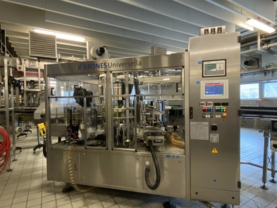 Used Krones Universella 600-10 Labeling machine for Sale (Trading Premium) | NetBid Industrial Auctions