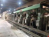 Cardboard production system complete including auxiliary systems and aggregates