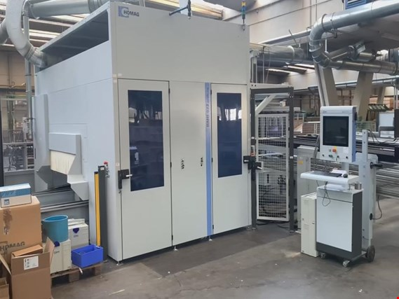 Used HOMAG BMB 922 35/13/B2 CNC machining center for Sale (Trading Premium) | NetBid Industrial Auctions