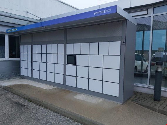 Used emmasbox Food Outdoor PICK-UP LOCKERS Emma's Box for Sale (Trading Standard) | NetBid Industrial Auctions