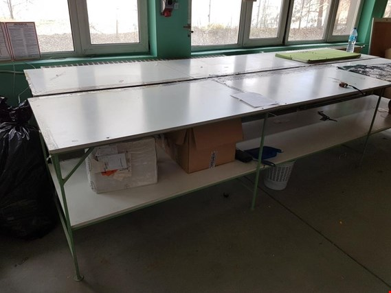 Used Long knitting table for Sale (Auction Premium) | NetBid Industrial Auctions