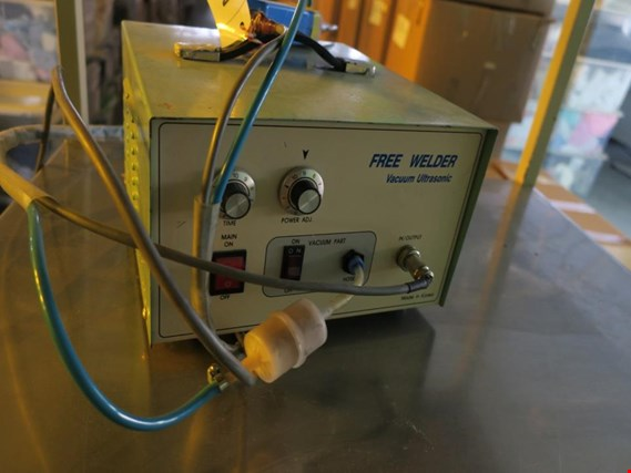 Used Free Welder Vacuum Ultrasonic Ultrasonic Hot-fix setting machine for Sale (Auction Premium) | NetBid Industrial Auctions