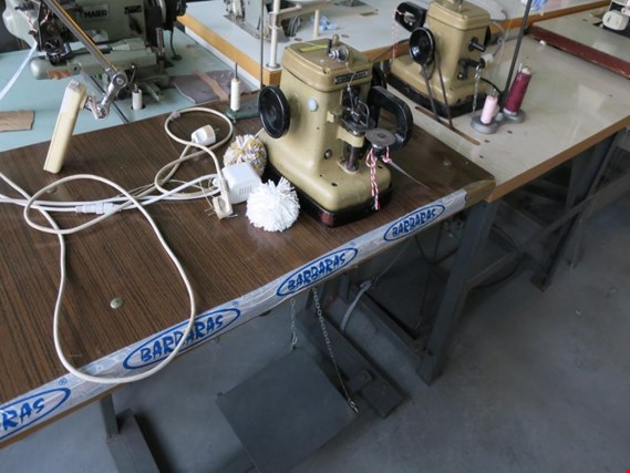 Used Flying Man GP4-4 Round head sewing machine for Sale (Auction Premium) | NetBid Industrial Auctions